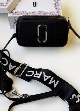 Женская сумка клатч marc jacobs марк якобс в коробке два ремня