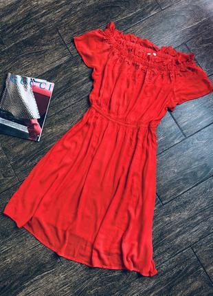 Очень красивое натуральное летнее красивое платье большого раз...