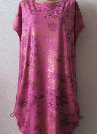 Платье туника джессика, большой размер