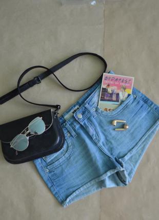 Женские джинсовые шорты topshop