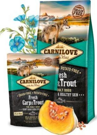 Сухой корм Carnilove (Карнилав) Dog Adult карп/треска