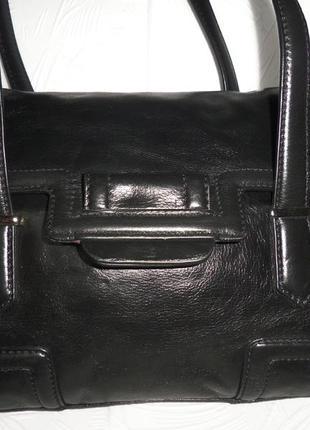 Стильная сумка натуральная кожа clarks