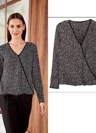 Красивая женская шифоновая блуза блузка esmara германия