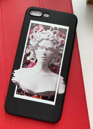 Чехол горгона змея на iphone 7 plus 8 +