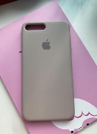 Чехол silicon case на iphone 7 plus 8 +