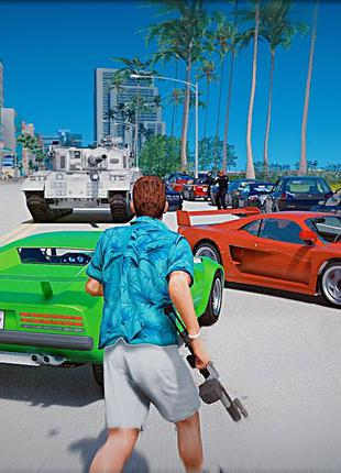 Диск с культовой игрой для ПК | GTA vice city