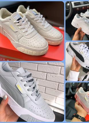 Кроссовки, топ реплика Puma,  новая модель, 5 цветов