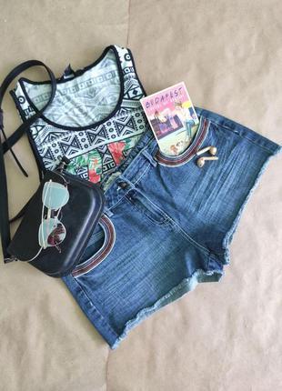 Женские джинсовые шорты papaya