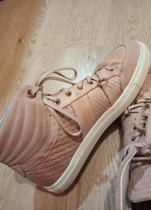 Ботинки tommy hilfiger/ кожа