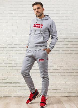 Теплый мужской спортивный костюм ⛄️ спортивный костюм на флисе