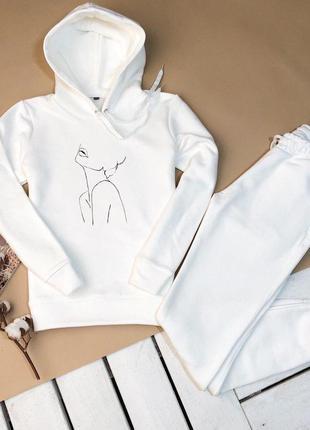 Женский спортивный костюм худи + штаны
