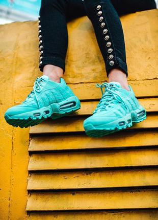 Женские кроссовки nk 95 blue