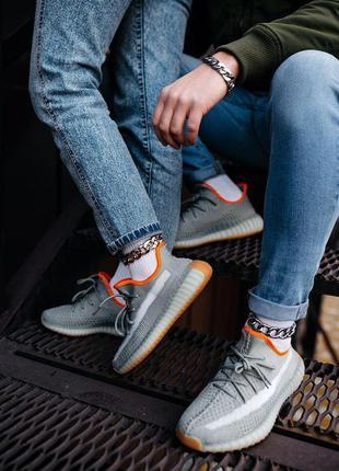 Женские кроссовки adidas yeezy 350v2 earth