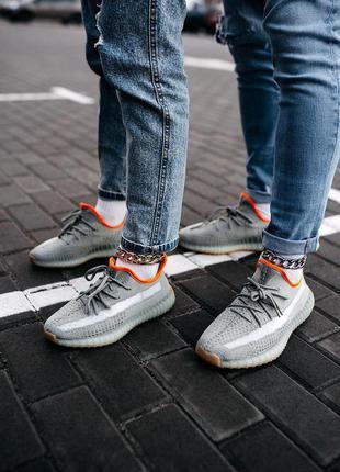 Мужские кроссовки adidas yeezy 350v2 earth