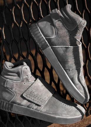 Adidas tubular winter grey
