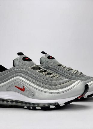 Мужские кроссовки nike air max 97 silver bullet