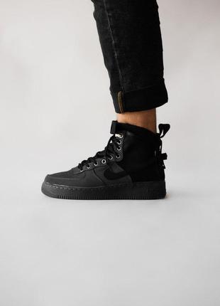 Nike air force hight black
