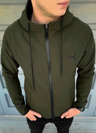 Куртка софт шелл хаки
