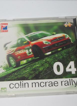 Диск с игрой для ПК | colin mcrae rally 04