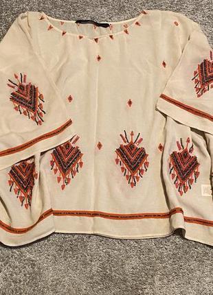 Блуза блузка зара zara #розвантажуюсь