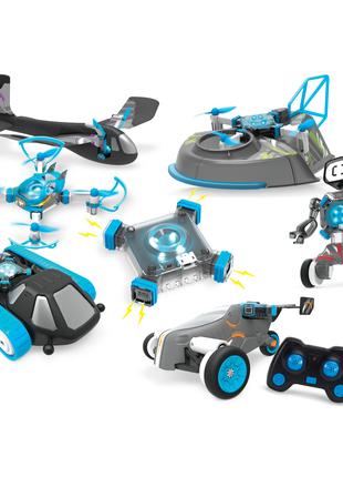 Игрушка на радиоуправлении 6 в 1(дрон, танк, робот, самолет и др)