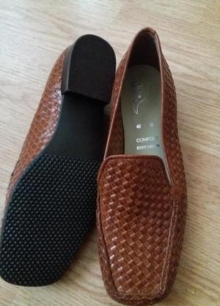 Туфли женские  кожа внутри и снаружи, оригинал lamia италия