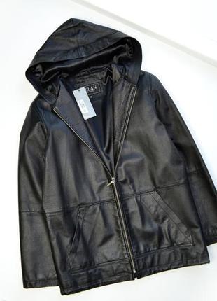 Женская кожаная куртка milan leather курточка