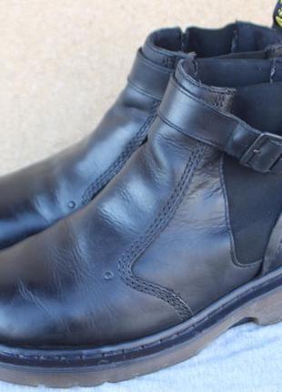 Ботинки dr. martens кожа англия оригинал 40р челси