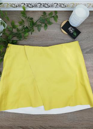 🌿s🌿европа🇪🇺 zara. классная фирменная юбка на запах