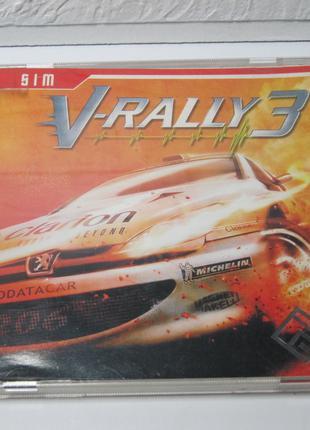 Диск с игрой для ПК | V-Rally 3