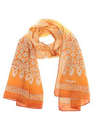 Azzaro новый шёлковый шарф