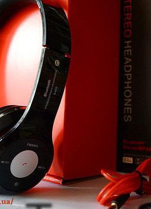 Наушники беспроводные Bluetooth Monster Beats Solo S460 Мощный...