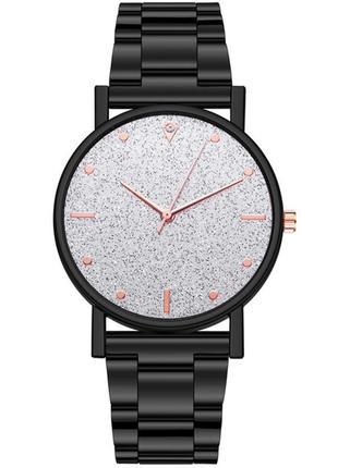 Часы женские наручные чёрные