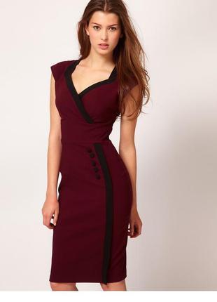 Платье миди 46 размер бюстье офисное нарядное футляр лучшая цена