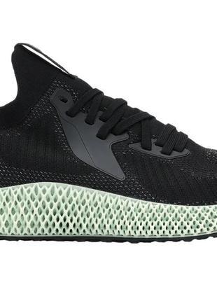 Мужские кроссовки adidas alphaedge 4d reflective core black fv...