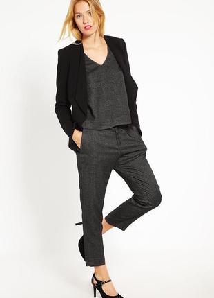 Брендовые женские серые брюки капри с карманами and less numph...