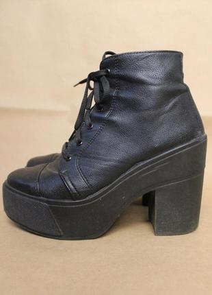 Asos ботинки на толстом каблуке на платформе