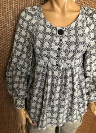 Шелковая блуза от Massimo Dutti