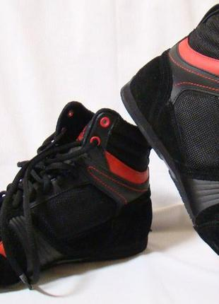 Кроссовки детские кеды боксерки черные lonsdale storm box 30