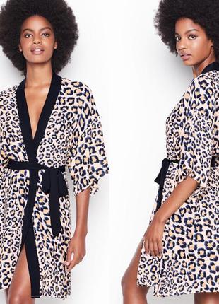 Victoria's secret легкий халатик халат кимоно виктория сикрет
