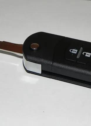 Выкидной ключ Mazda 2кнопки.