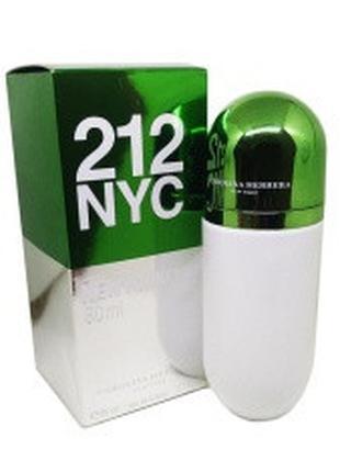 CAROLINA HERRERA 212 NYC Pills 80 мл. Туалетная вода женская