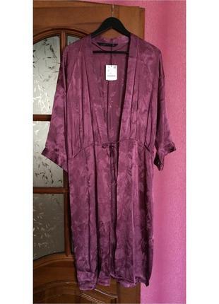 Кардиган ночнушка халат zara платье