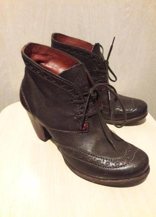 Шикарные кожаные туфли.#розвантажуюсь