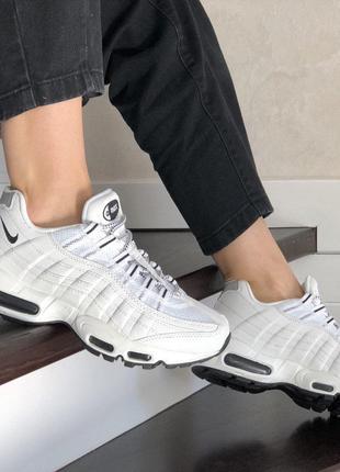 Кроссовки Nike Air Max 95 белые 37-46 размер
