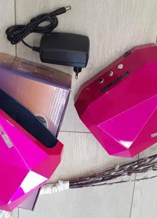 Гибридная УФ лампа для сушки ногтей 36Вт