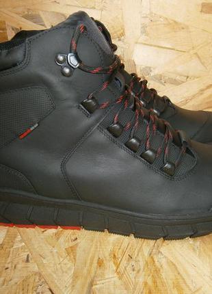 Ботинки спортивные мужские зима кожа мида