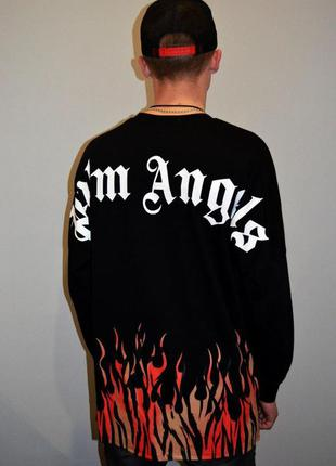 Лонгслив palm angels fire