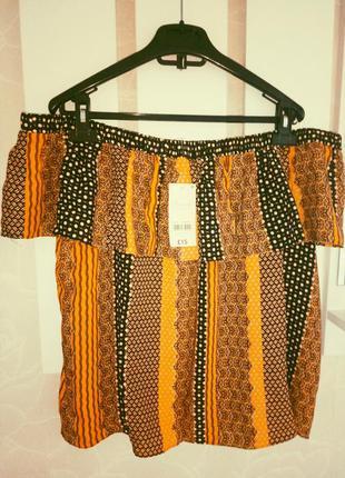 Блузка майка топ , открытые спущеные  плечи
