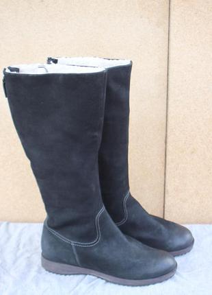 Зимние сапоги ecco кожа дания оригинал 39р ботинки